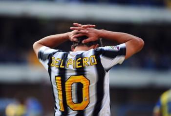 Juventus' forward Alessandro Del Piero r