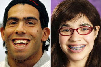 Tevez e ugly Betty