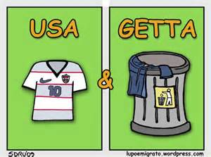 calcio usa e getta