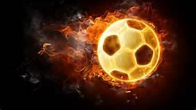pallone infuocato